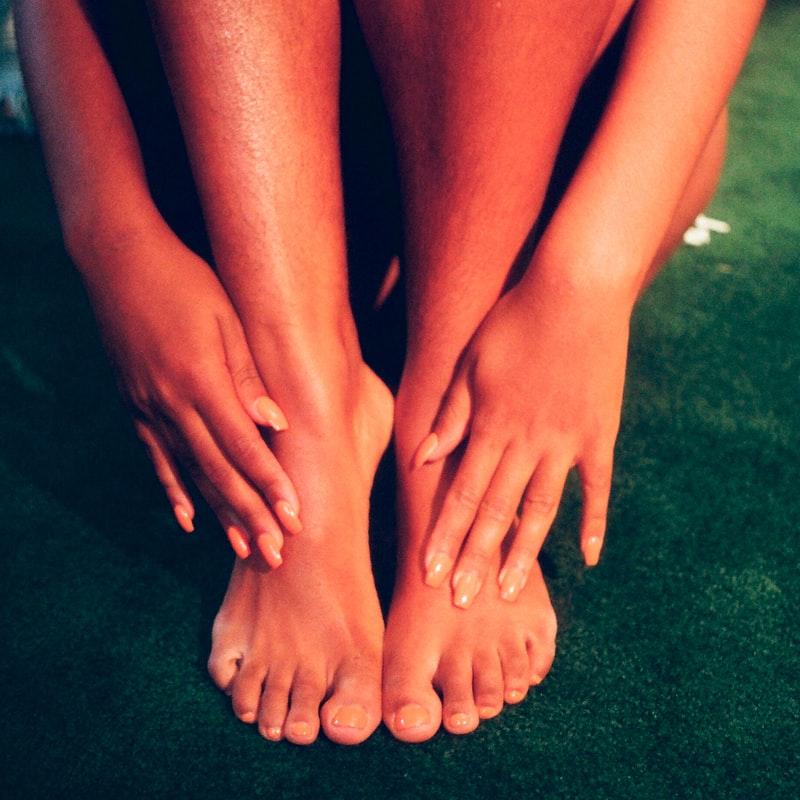 bain massage pied